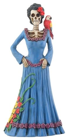 day of the dead statues - Google Search