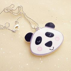 Hoobynoo Panda Bear Child's Necklace
