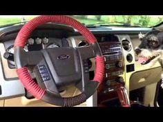 Paracord steering wheel wrap tutorial - YouTube