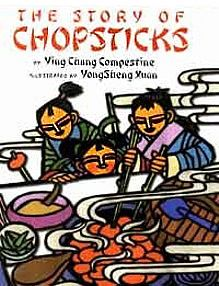 The Story Of Chopsticks: Amazing Chinese Inventions by Ying Chang Compestine Best Books To Read, Good Books, My Books, Ancient China, Chinese New Year, Learn Chinese, Chinese Food, Chopsticks, Book Lists