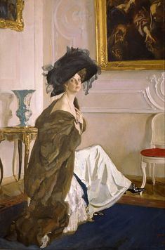 Portrait of Princess Olga Orlova, 1911, Valentin Serov.