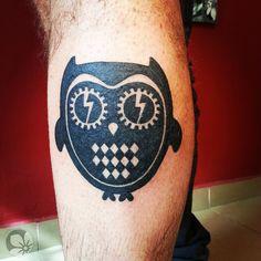 [www.tattoou.co.il :טאטו יו - כל מה שרצית לדעת על קעקועים] ---  #Owl #tattoo קעקוע ינשוף
