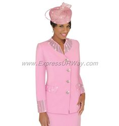 Women Suits Church Clearance | Womens Church Suits - Franccesca Bellini - 27274 - www.ExpressURWay ... Women Church Suits, Suits For Women, Mens Suits, Mother Of The Groom Suits, Church Dresses, Career Wear, Bellini, Designer Collection, Chef Jackets