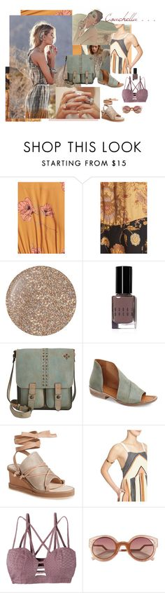 """Coachella! (6)"" by daydreamer01 on Polyvore featuring Butter London, Bobbi Brown Cosmetics, Patricia Nash, Free People, RVCA and Fendi"