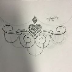sternum tattoo underboobs designs - Pesquisa Google: