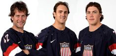 3 St. Louis Blues players named to the 2014 USA Olympic Team - David Backes, Kevin Shattenkirk and T.J. Oshie....Congratulations boys.. :)