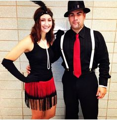 Halloween on Pinterest | Couple Costumes, Gangsters and Flapper ...