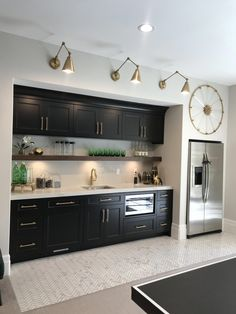 Küche, kitchen, cuisine Parental Control - TV Rating System With the increase of sex and violence on Basement Bar Designs, Home Bar Designs, Home Design, Wet Bar Designs, Basement Ideas, Finished Basement Designs, Basement Kitchenette, Basement House, Kitchenette Ideas