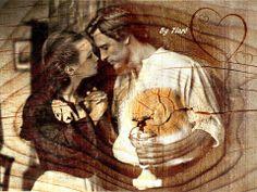 Fan-art de mis novelas. Ethan y Linette Gallagher, de DAMA DE TRÉBOLES, por Tiaré.