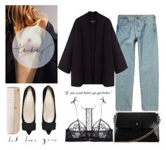 """""""it's late kiss me"""" by parisheartschic ❤ liked on Polyvore featuring Isabel Marant, La Perla and HAY"""
