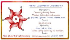 Diwali Celebration Contest 2015