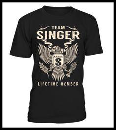 Team SINGER Lifetime Member (*Partner Link)