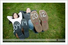 The date on the bottom of your shoes!