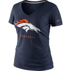 Denver #Broncos Nike Women's Legend Logo Tee. Click to order! - $29.99