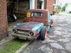 '64 Ford rear clip, narrowed a bit...