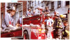 Steve Buscemi ~ returned to his old firehouse and volunteered for service on 9/11. Right alongside the crew of FDNY Engine 55, he busted ass for up to 12 hours at a time, shoveling out debris and rubble and pulling survivors out of the wreckage...