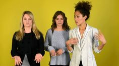 <b>Stef, Lena, and Callie answer all of your burning questions.</b>