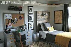 Boys room... wall ideas