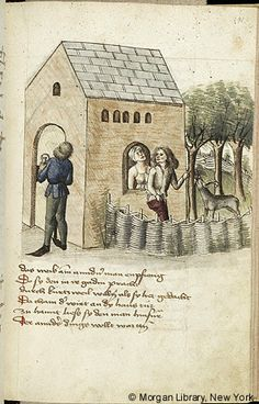 Literary, MS M.763 fol. 141r - Images from Medieval and Renaissance Manuscripts - The Morgan Library & Museum