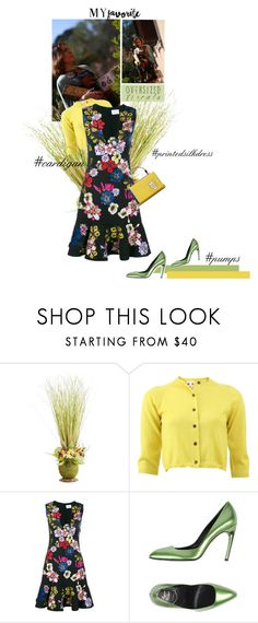 """""""Me"""" by theitalianglam ❤ liked on Polyvore featuring Pier 1 Imports, Marni, Erdem, Roger Vivier, Emilio Pucci and myfavorite"""