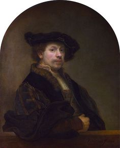 Rembrandt, Autoportret 1640 r., National Gallery