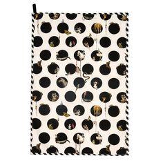 Character Polka Tea Towel   Emily Humphrey   Wolf & Badger