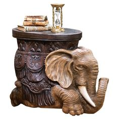 Found it at Wayfair - The Sultans Elephant Sculptural End Table in Greyhttp://www.wayfair.com/daily-sales/p/Cozy-Classics%3A-Traditional-Living-Room-The-Sultans-Elephant-Sculptural-End-Table-in-Grey~TXG4279~E13831.html?refid=SBP.rBAZEVQLp8YoLzAq017cAu-K0K2IQUshmx6VDi3v2gI