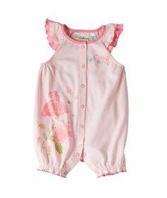 Baby Girl Bunny Hop Short Sleeve Romper | Hallmark Baby Clothes