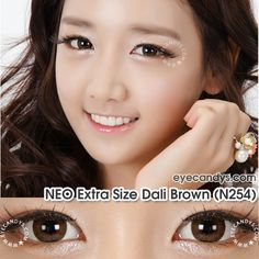Most popular colored circle contacts from NEO Vision. The Extra Size Dali series gives you bigger, brighter eyes. Shop with confidence at EyeCandys.com, the circle lens specialists. http://www.eyecandys.com/extra-size-dali-series-14-2mm/