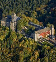 Burg Schnellenberg, Attendorn, Nordrhein-Westfalen, Deutschland