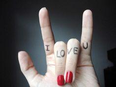 I Love U... Don't hate what's unattainable