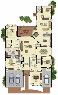 Find your new Florida home for sale at GL Homes, one of Florida's largest new home builders. House Layout Plans, Family House Plans, Dream House Plans, House Layouts, House Floor Plans, My Dream Home, Building Plans, Building A House, Home Design Floor Plans