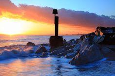 Christchurch Beach, Near Boscombe, England