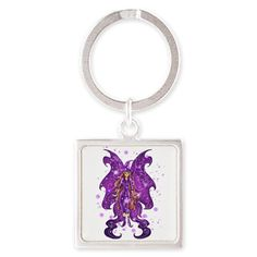 Keychain www.teeliesfairygarden.com To keep your things organized yet still chic,this keychain is perfect for you. #fairykeychain