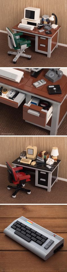 New Retro Technology LEGO Kits by Chris McVeigh