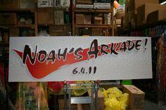 Creative Name Theme Bar Mitzvah - Noah's Arcade by Life O' The Party - mazelmoments.com