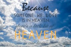 Because Someone We Love is in Heaven  by RareVintagePatterns