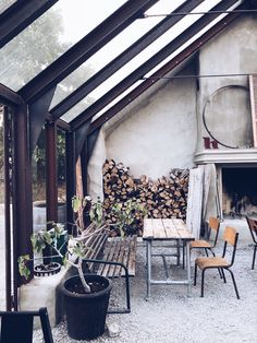 Outdoor Spaces, Outdoor Living, Outdoor Decor, Haus Am See, Garden Venue, Green Rooms, Garden Structures, Glass House, Winter Garden