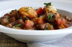 A simple Lamb casserole with dumplings recipe for you to cook a great meal for family or friends. Buy the ingredients for our Lamb casserole with dumplings recipe from Tesco today.