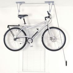 The Art of Storage El Greco Bike Ceiling Hoist, Grey