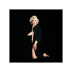 Marilyn Monroe Is Beautiful In Black Sitting (NU-01) — The First Portfolio — The Archives Store | Milton H. Greene's digitally restored, photographic prints and more
