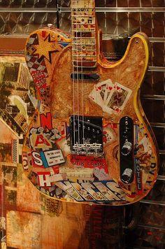 Well-traveled Fender Telecaster