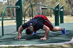 Hindu Push Up. Step Two: Move your body in a forward and curved like motion transferring your body weight from your legs, to your upper body and then arms.