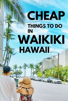 Cheap things to do in Waikiki Hawaii on a budget. How to save money on Hawaii vacation. How much does it cost to go to Hawaii? Beaches, snorkeling, Oahu hikes, dream vacations with amazing island views! Adventures to a Hawaii Vacation Tips, Hawaii Travel Guide, Hawaii Honeymoon, Vacation Trips, Dream Vacations, Vacation Ideas, Travel Tips, Vacation Spots, Travel Ideas