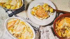 Tartiflette ist ein himmlisches Gericht aus geschmolzenem Käse, Speck, Zwiebeln und Kartoffeln.