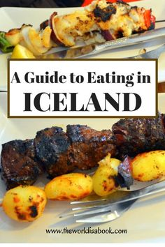 Eating in Iceland with kids: Bizarre Foods Edition