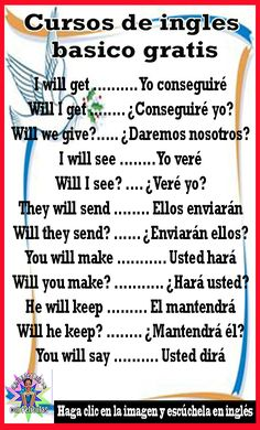 (Movie in Spanish) Spanish Grammar, Spanish Vocabulary, Spanish English, Spanish Words, English Tips, Spanish Language Learning, English Book, Spanish Lessons, English Class