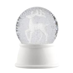 Snow globe with reindeer from Bloomingville