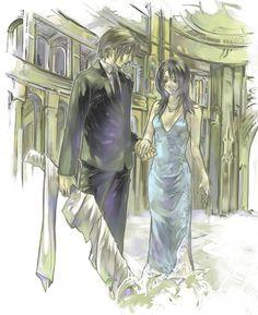 Rinoa and Squall - Final Fantasy VIII