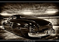 '50 Merc, slead of lead.  Perhaps my favorite car ever!